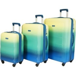 Pacpro Luggage Sets Glossy Suitcase Sets Hardside Spinner Trolley Expandable