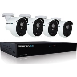 Night Owl XHD501-44P-B 4-Channel Smart Surveillance System with 1TB HDD and 4 HD Cameras found on Bargain Bro India from groupon for $398.99