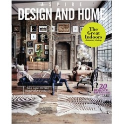 One-Year, Four-Issue Subscription to Aspire Design and Home from Blue Dolphin Magazines...