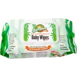 Bum Boosa Bamboo Products Baby Wipes - 24 Bulk Case, 1,920 Count
