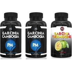 Garcinia Cambogia PM (2-Pack) and Garcinia Thermogenic Supplements