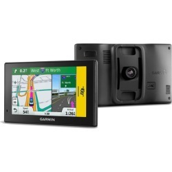 """Garmin DriveAssist 50LMT 5"""" GPS with Built-in Dash Cam and Lifetime Traffic and Maps (Manufacturer Refurbished)"""