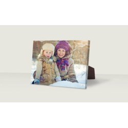 "5x7"" Custom Premium Tabletop Thick-Wrap Canvas Prints from Canvas on Demand (Up to 86% Off)"