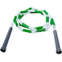 Power Systems 35206 6 ft. Beaded Jump Rope - Green-White
