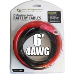 Power Bright 4-AWG6 Power Cables for Inverter