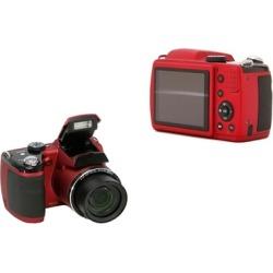 "Ideal Red 3"" LCD Screen Digital Cameras 16MP HD Video"