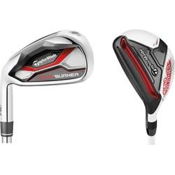 TaylorMade Golf Left Hand AeroBurner HL Hybrid Combo Set(#3h 4h, 5-PW), Regular