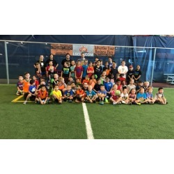 One- or Three-Day Thanksgiving Break Soccer Camp for One or Two Kids at Longevity Sports Center (Up to 47% Off)