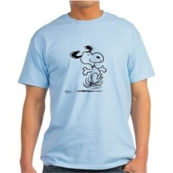 CafePress Snoopy T-Shirt - 100% Cotton T-Shirt found on Bargain Bro India from groupon for $13.99