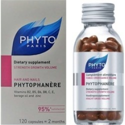 Phyto Phytophanere Hair Nails Dietary Supplements Caps
