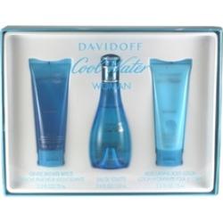 Cool Water For Women By Zino Davidoff 3 Pc. Gift Set