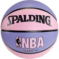 Spalding 73-132E Official NBA Street Pink-Purple Basketball