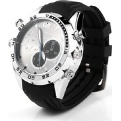 Spy Wrist Watch 1080P 16GB Night Vision Hidden video Camera Waterproof found on Bargain Bro India from groupon for $21.99