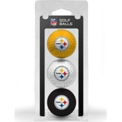 Team Golf 32405 Pittsburgh Steelers Golf Ball Pack