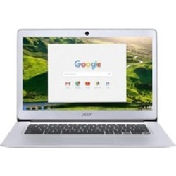 """Acer 14"""" Chromebook with Intel Celeron 1.6GHz Processor, 4GB RAM, and Solid-State Drive (Refurb. A-Grade)"""