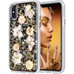 iPhone Case Made with Real Flowers Slim Protective Design Cover