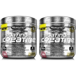 MuscleTech Platinum Micronized Creatine Supplement (1- or 2-Pack)