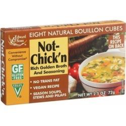 Not Chicken Bouillon Cube ( 12 - 2.5 oz boxes )