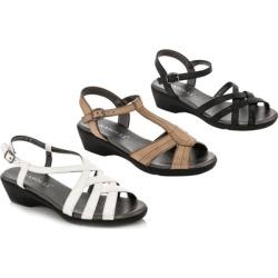 Rasolli Gloria Women's Low Wedge Sandals