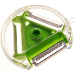 Hot Sale 3 In 1 Kitchen Assistant Vegetable Fruit Rotary Peeler Slicer Tool