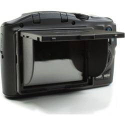 "ENHANCE SHADE Universal 3"" Pop-Up Camera LCD Sun Shade and Screen Protector"