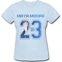 Ypzrz Game of Thrones Fashion Maya Moore Basketball Player #23 Tee