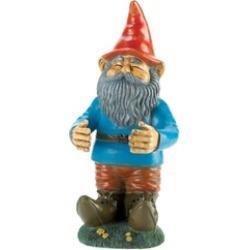 Garden Gnome Beer Soda Can Holding Statue Figure Garden Sculpture