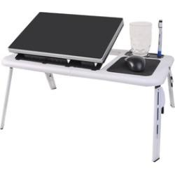 LAGGRA Adjustable Folding Laptop Table Desk Table