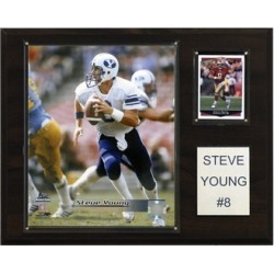 C & I Collectables 1215SYOUNGC NCAA Football Steve Young BYU Player