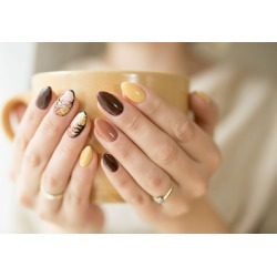 One or Two Gel Manicures at LP Cosmetics Spa (Up to 58% Off)