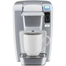 Keurig K15 Single Serve Compact K-Cup Pod Coffee Maker, Platinum