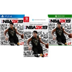 NBA 2K19 for PlayStation 4, Xbox One, or Nintendo Switch