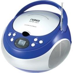 Naxa Npb251bl Portable CD Players With AM/FM Radio (blue)