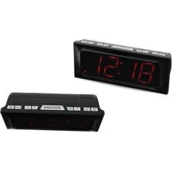 AM/FM Digital Clock Radio Dual Alarm Built-in speaker with LED Display