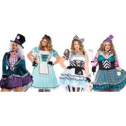 Leg Avenue Plus Size Wonderland Costumes