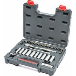 Apex Tool Group CTK30SETN Drive Socket & Tool Set, Nickel Chrome