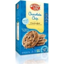 Enjoy Life B01225 Enjoy Life Crunchy Chocolate Chip Cookies -6x7 Oz