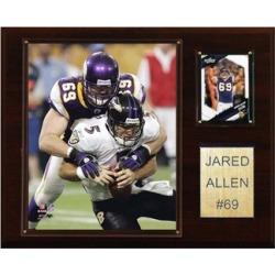 C & I Collectables 1215JALLEN NFL Jared Allen Minnesota Vikings Player