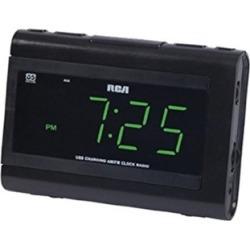 Audiovox RC142 Large LCD Clock Radio - Black
