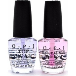OPI Natural Nail Base Coat and Top Coat Combo Pack - 0.5oz found on MODAPINS from groupon for USD $9.99