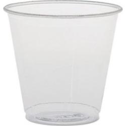 Solo Cups SCCTK35 3.5 oz Polystyrene Plastic Sampling Cups Clear