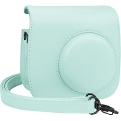 Leather Camera Shoulder Bag Case Cover For Fujifilm Instax Mini 8 / 9