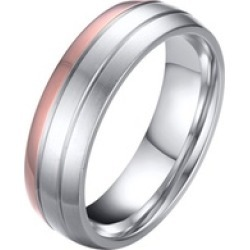 Trendy Wedding Ring Titanium Steel Fepromise Finger Anel High Quality
