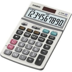 Casio JF100MSSIH Solar Calculator 10 Digit Display Tax Function