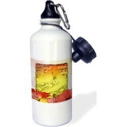Water Bottle - Music to Grow Flowers By - 21oz