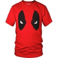 Deadpool Full Mask Vintage Distressed Marvel Comics Tee found on Bargain Bro India from groupon for $9.98