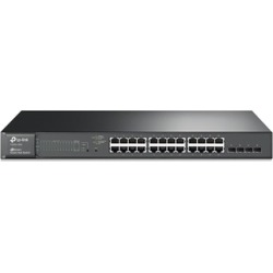 TP-LINK T1600G-28PS JetStream 24-Port Gigabit Smart PoE Switch with 4 SFP Slots found on Bargain Bro India from groupon for $306.99