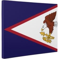 American Samoa Flag CANVAS Wall Art Home Décor