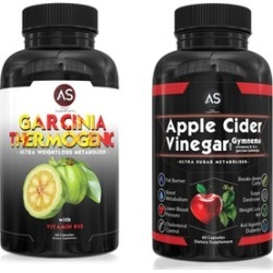 Garcinia Thermogenic and Apple Cider Vinegar Weight-Loss Supplements