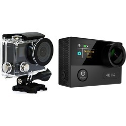 TechComm AT120 4K Ultra HD Waterproof Action Camera with Accessories